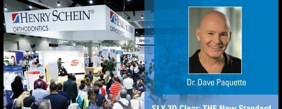 SLX 3D Clear: THE New Standard in Aesthetic Self-Ligation